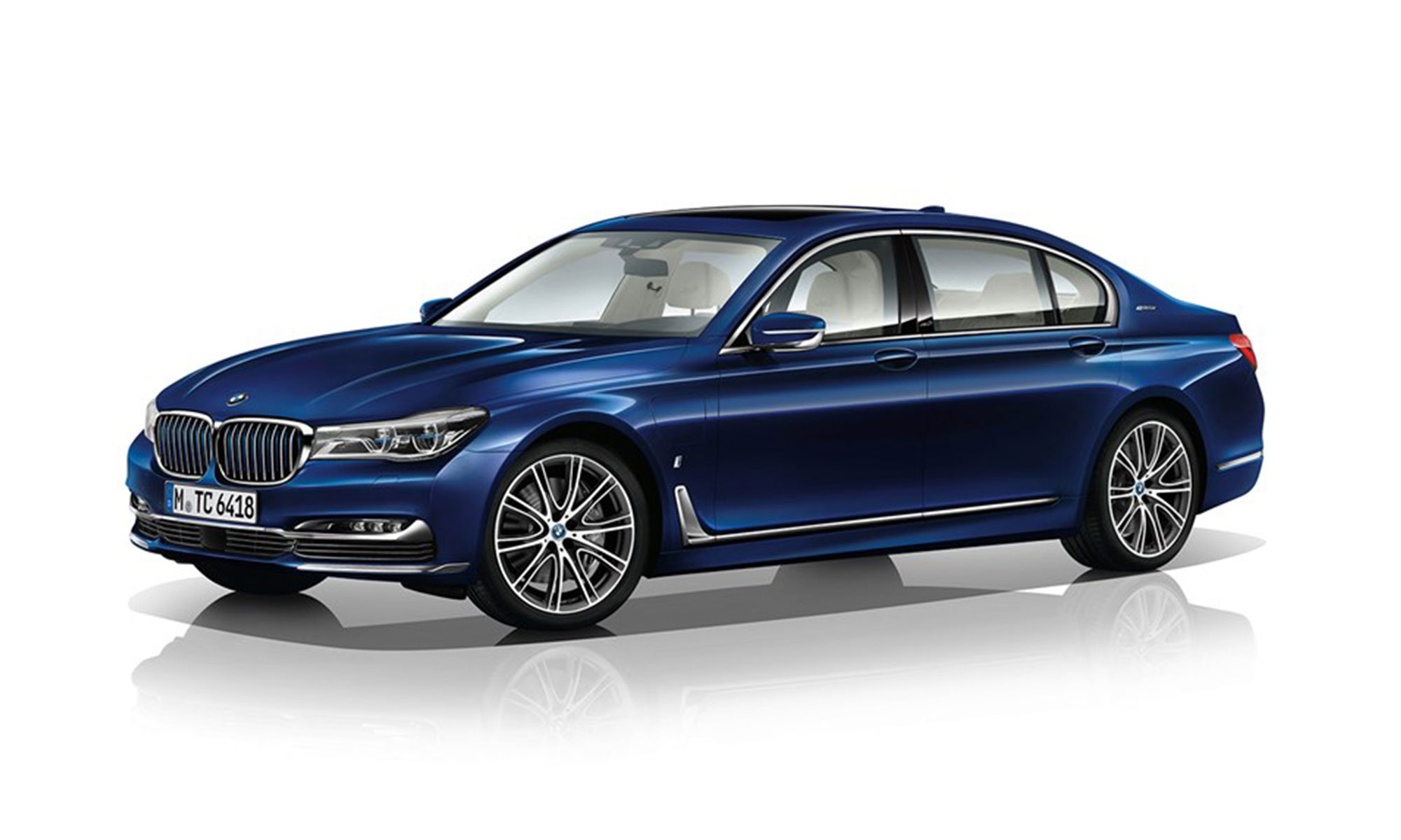 BMW 740e (2016)