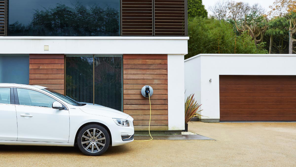 Electric Car Charging Points - Home