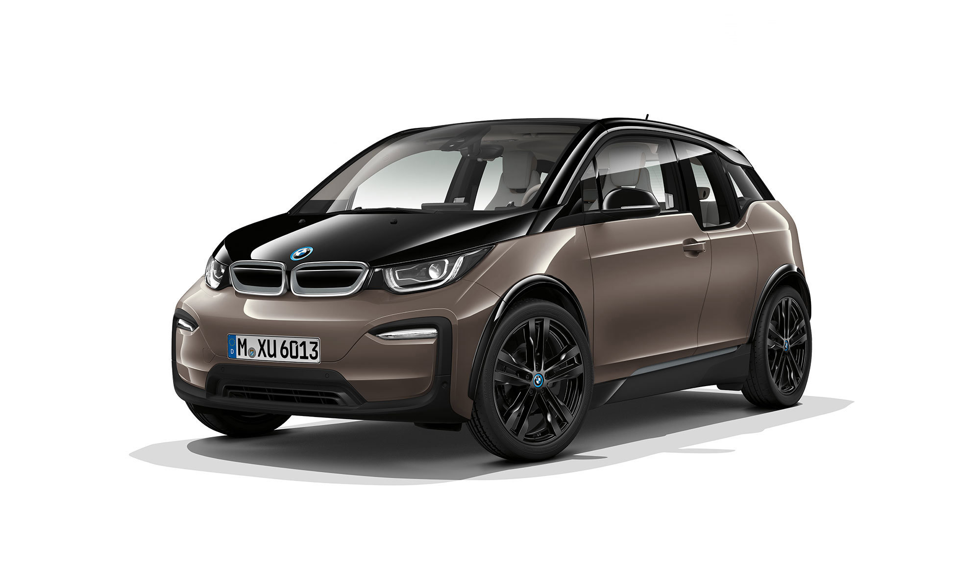 Bmw I3 White Background2