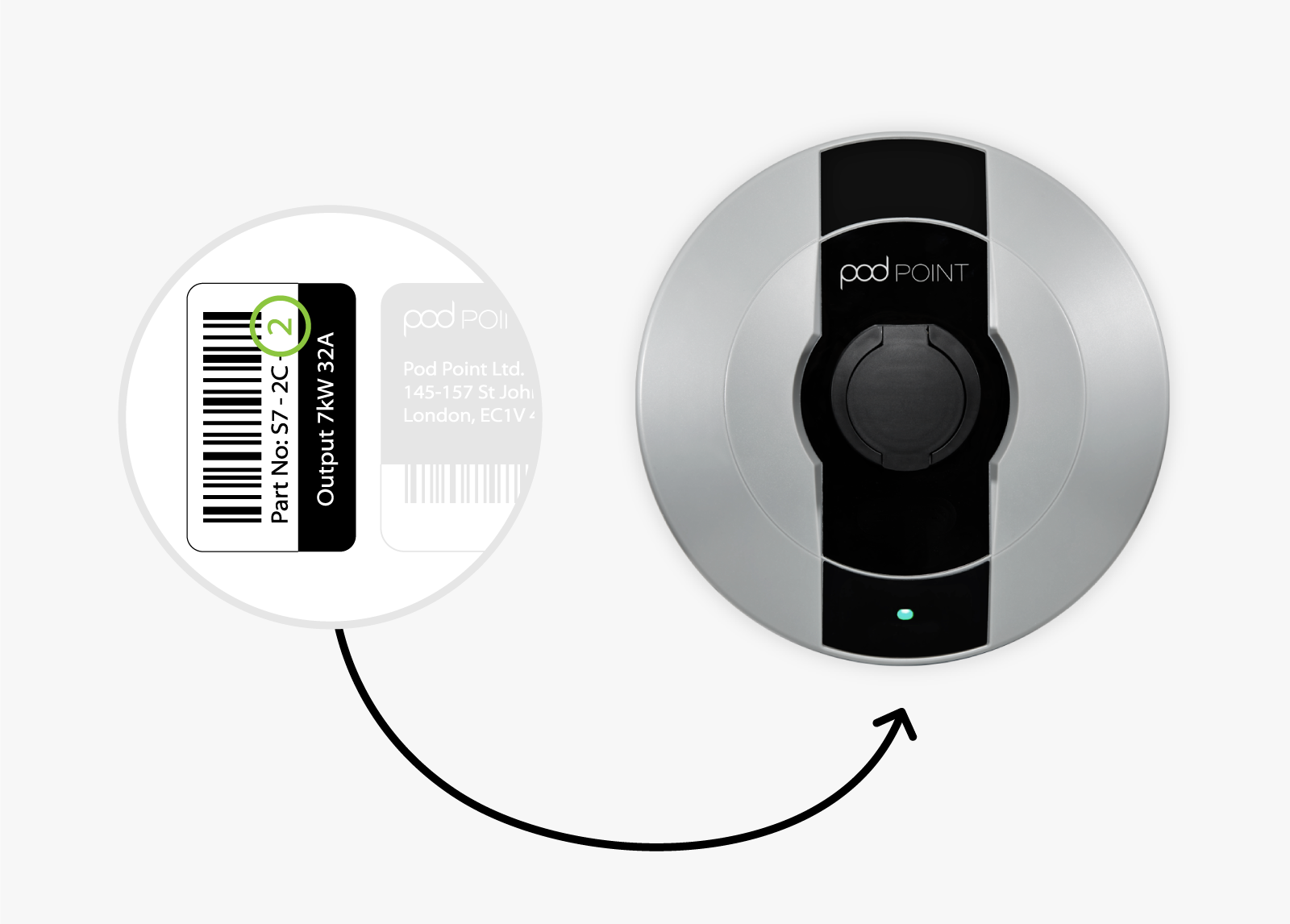 Solo Smart Charger - barcode