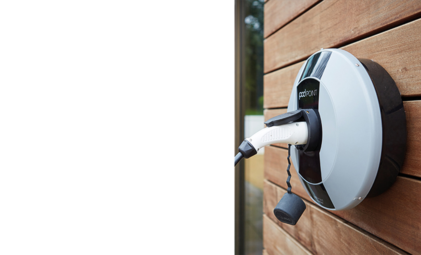 Benefits Of Electric Cars Home Charging White