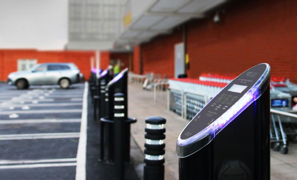 Customer Vehicle Charging - Sainsbury's