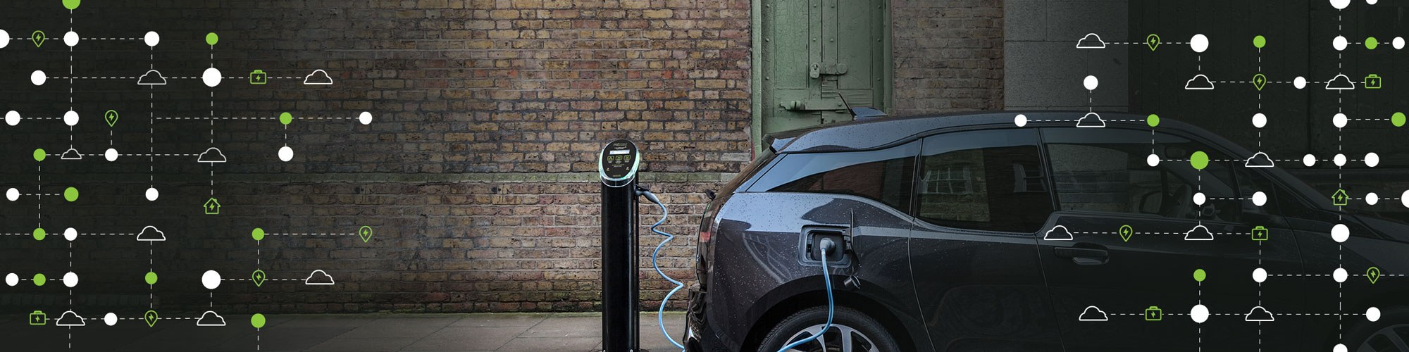 Main image for POD Point enter into new partnership with APCOA to develop EV charging network.