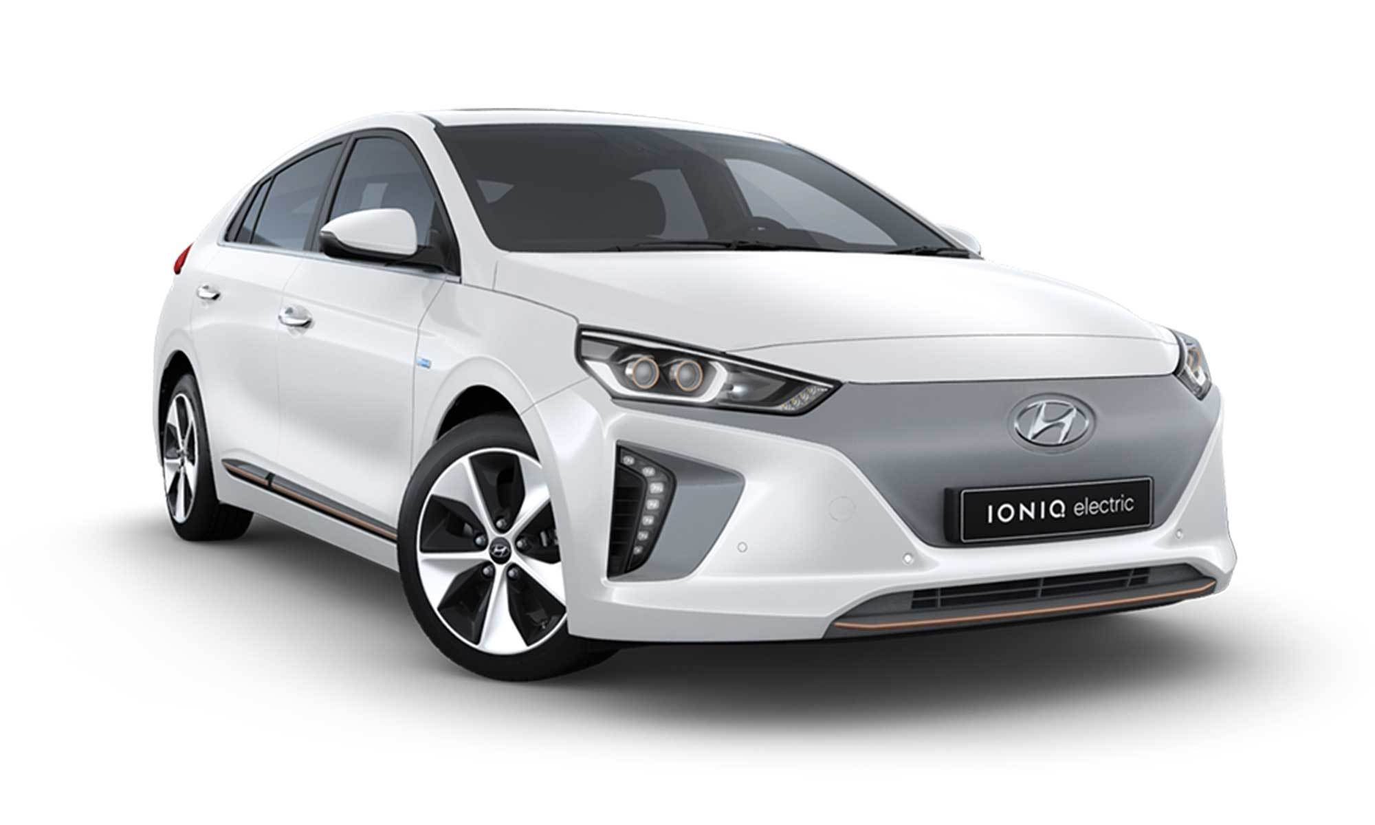 Ioniq Bev White Background 2