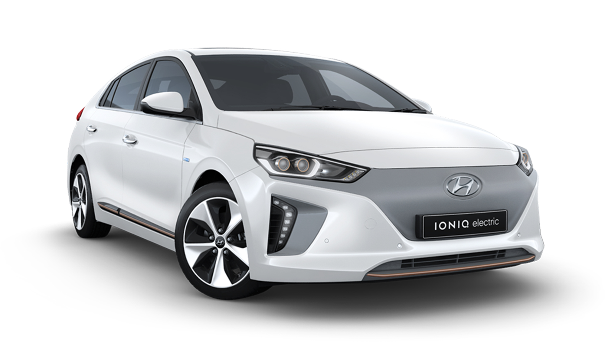 Ioniq Bev White Background