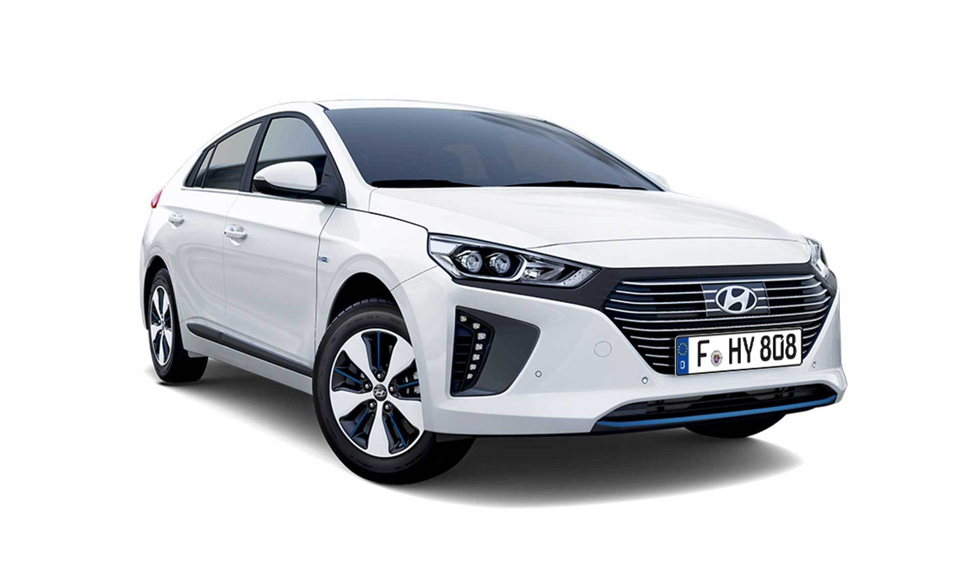 Ioniq Phev White Background 2