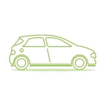 Mitsubishi Outlander Charging Electric Car