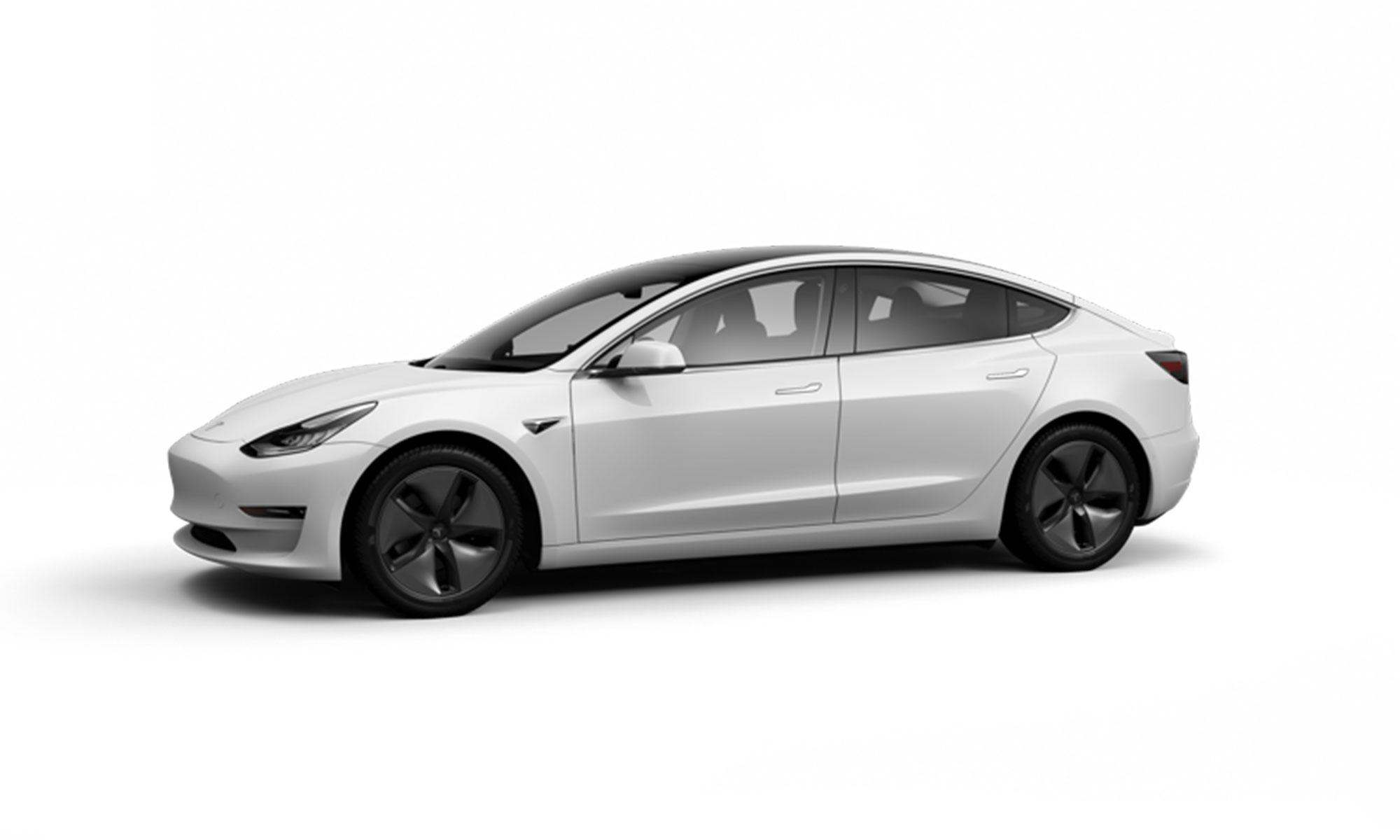 Model 3 White Background