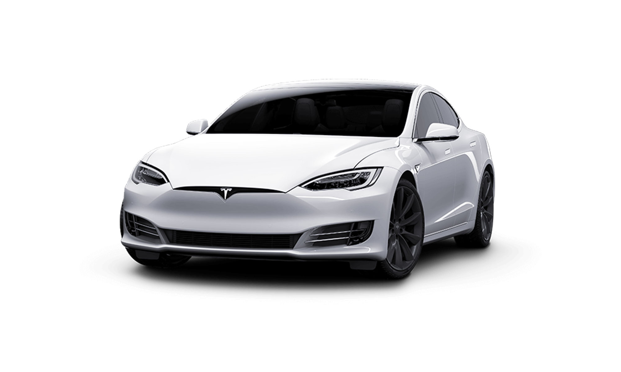 Model S White Background