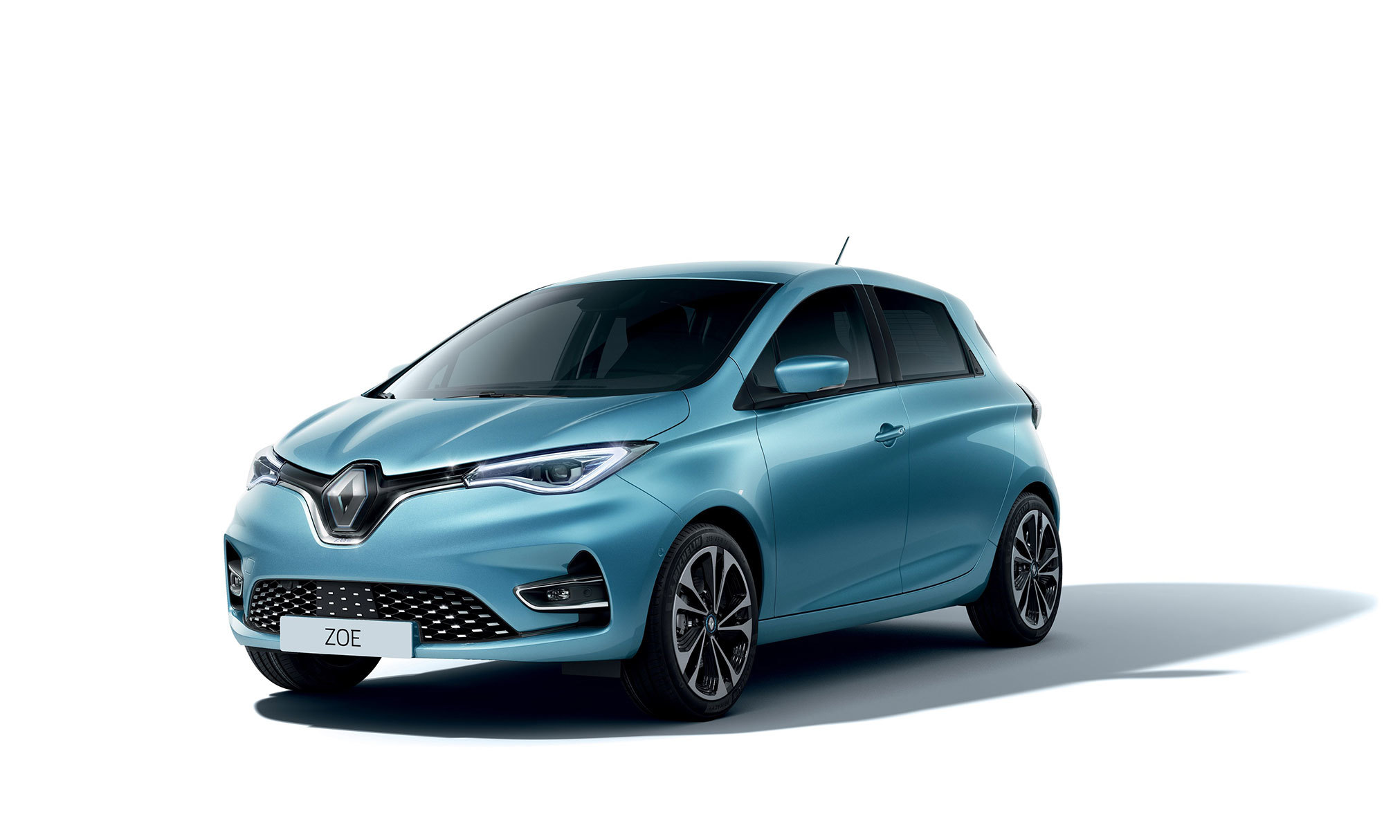 New Renault Zoe White
