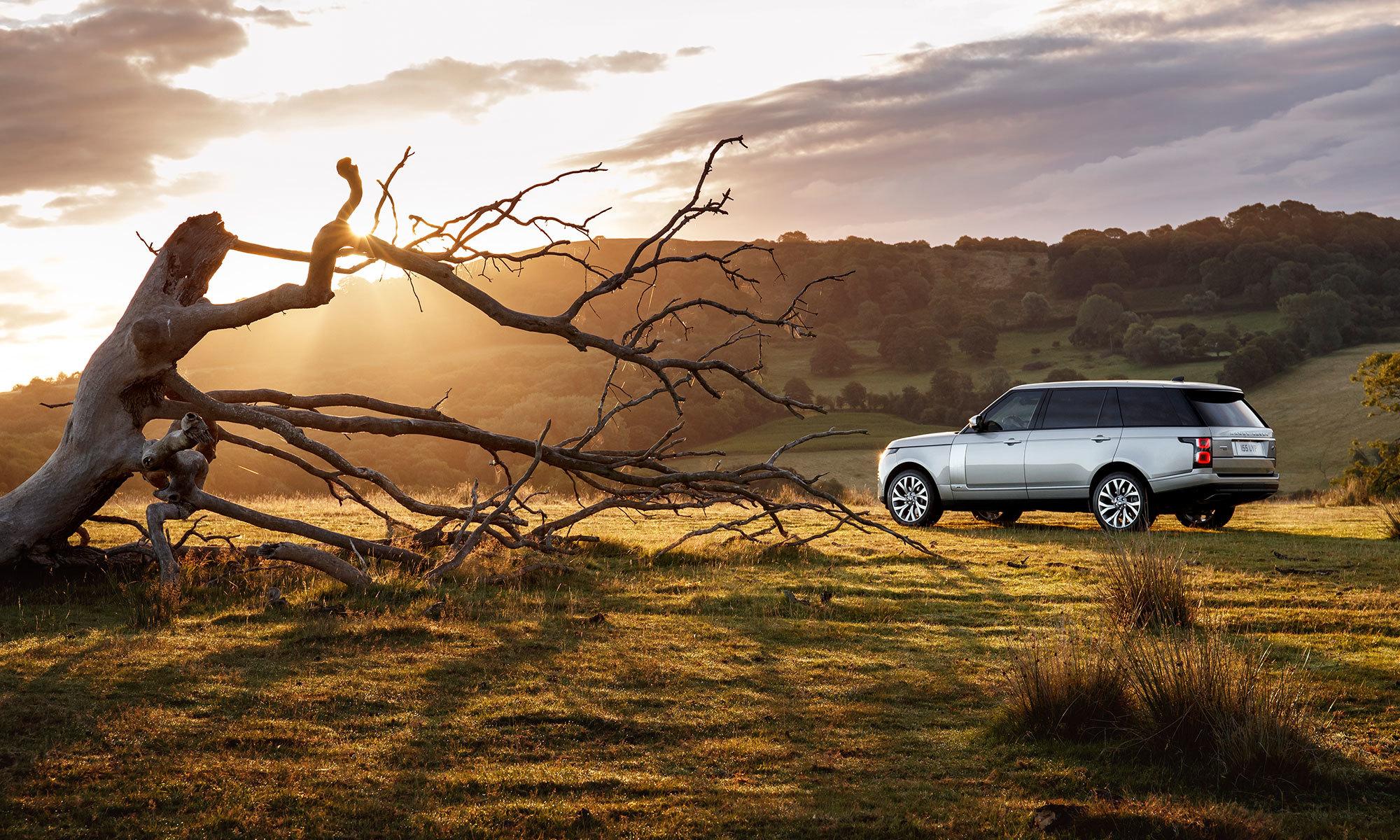 Range Rover Lifestyle Image