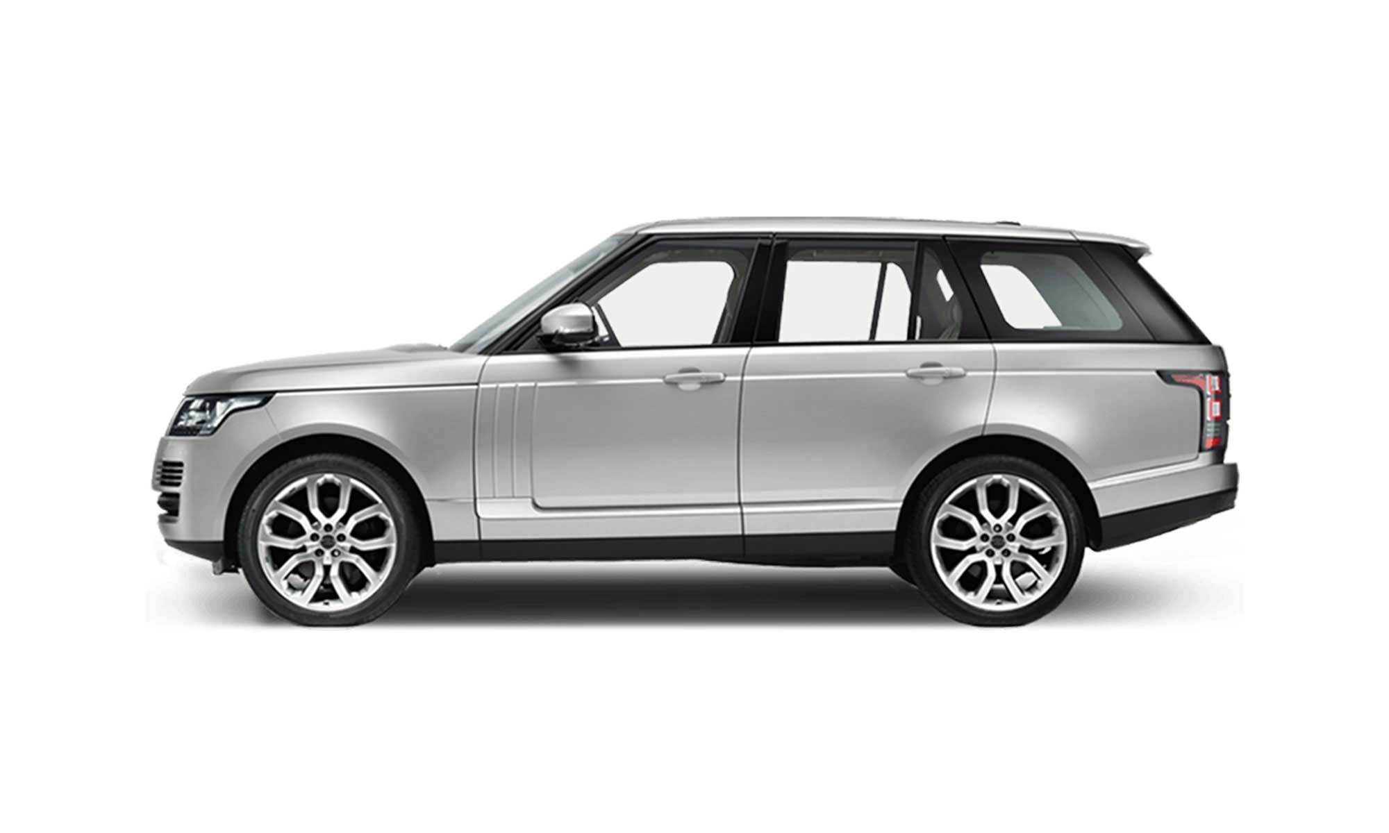 Range Rover White Background 2