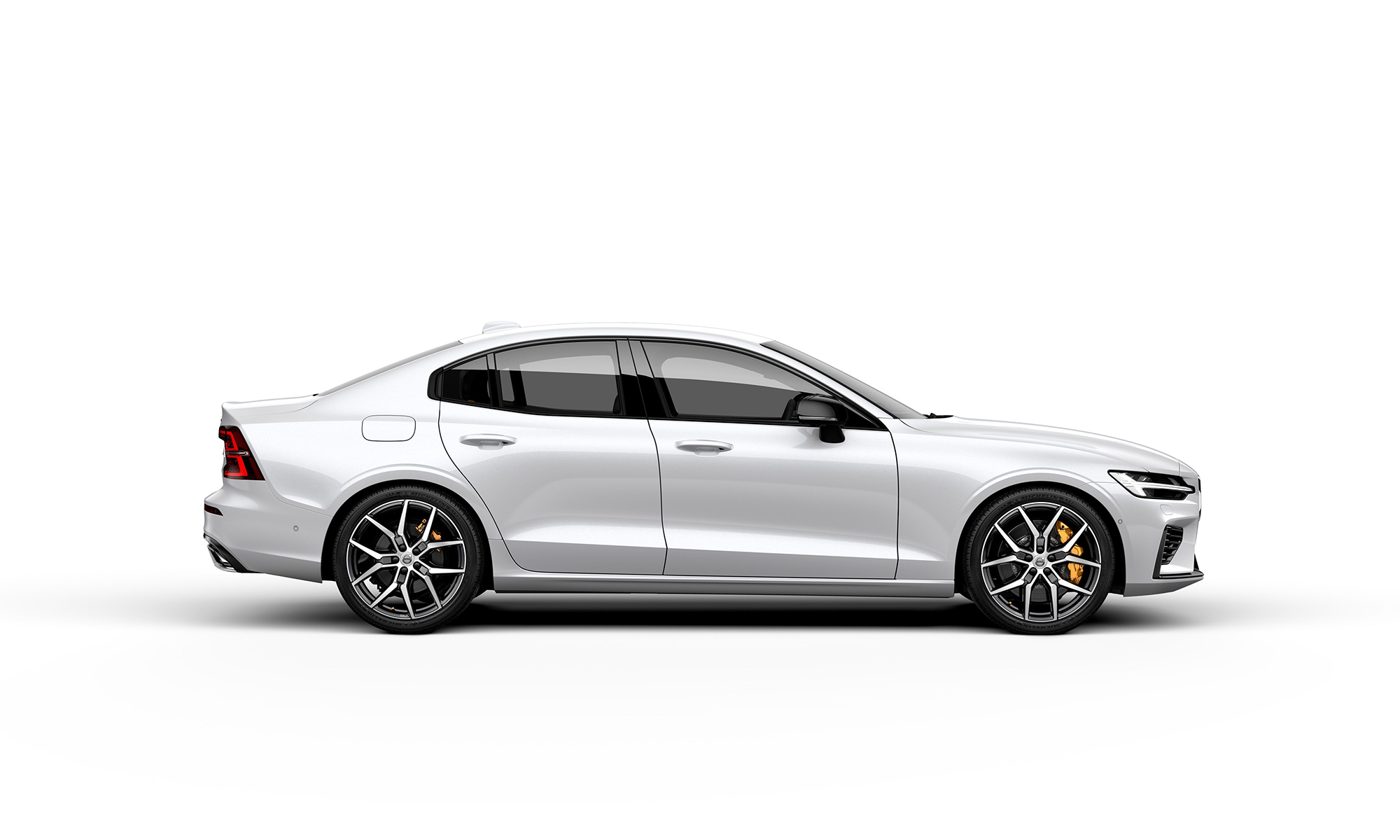 Volvo S60 White Background