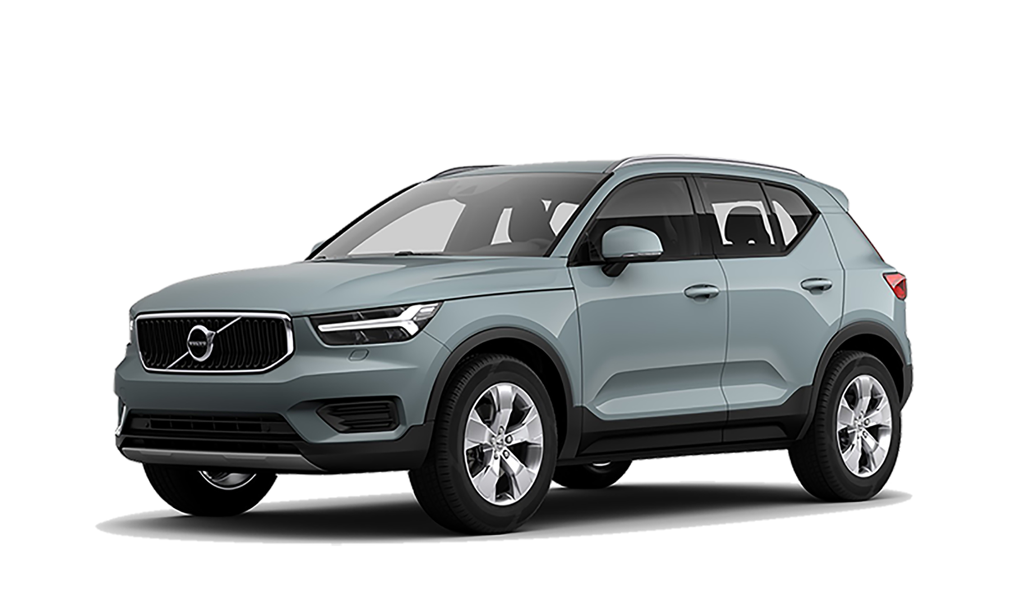 Volvo Xc40 Phev White Background