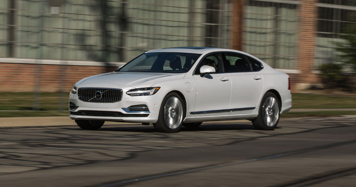 volvo s90 plug-in hybrid (2021) charging guide | pod point