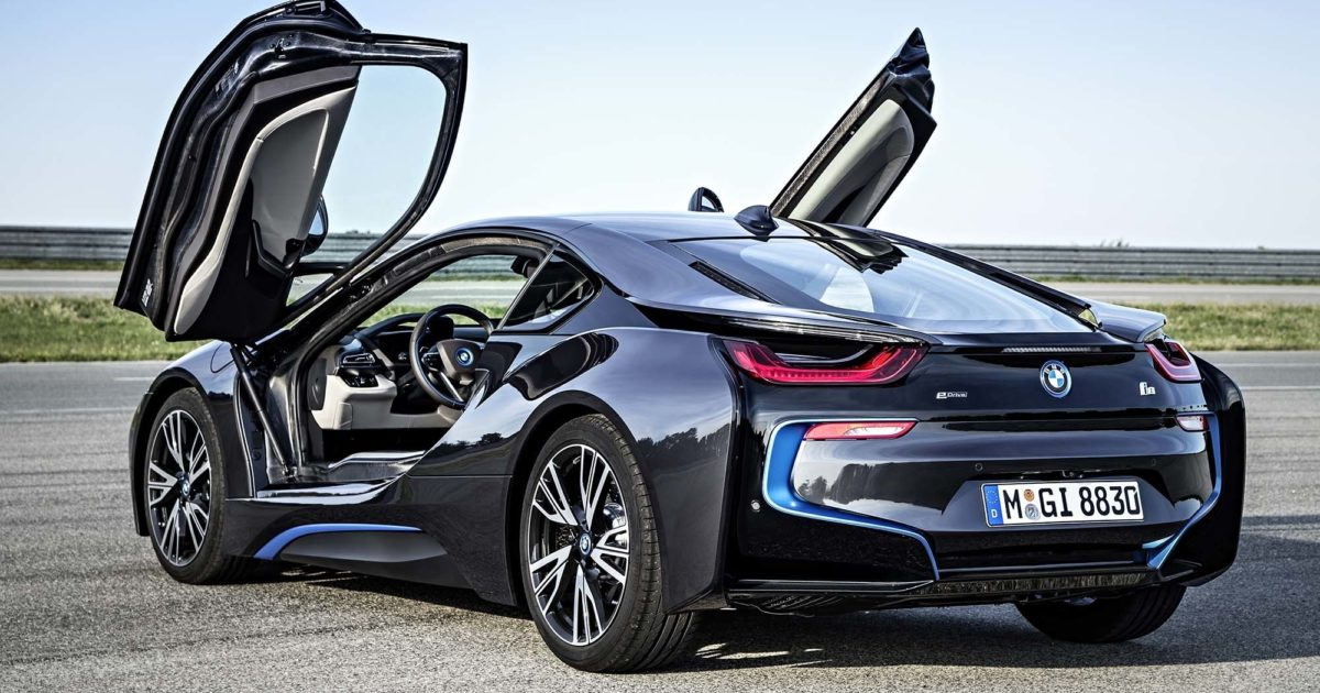 Bmw I8 2015 Charging Guide Pod Point