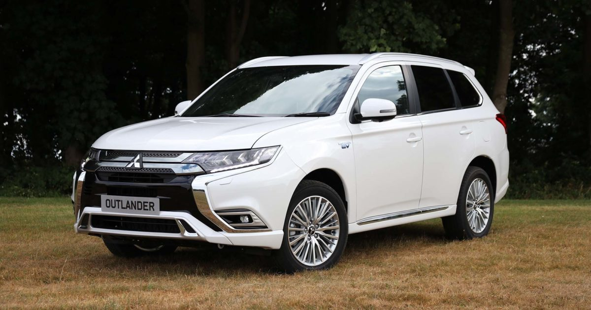 Mitsubishi Outlander Plug-In Hybrid (2018) Charging Guide | Pod Point