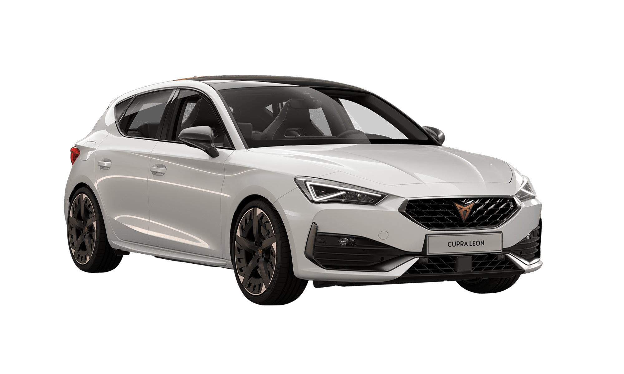 Cupra Leon White Background
