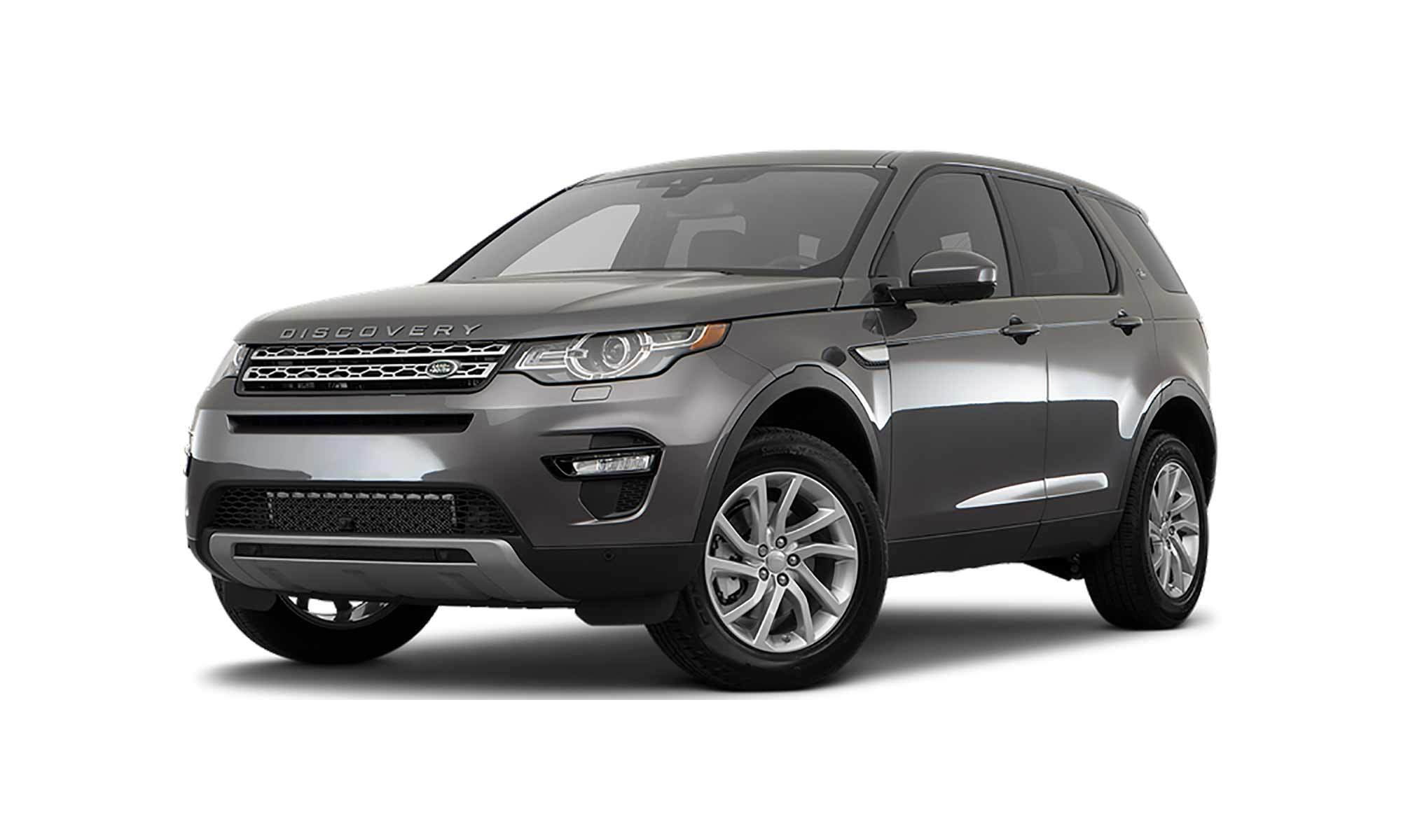 Discovery Sport White Background