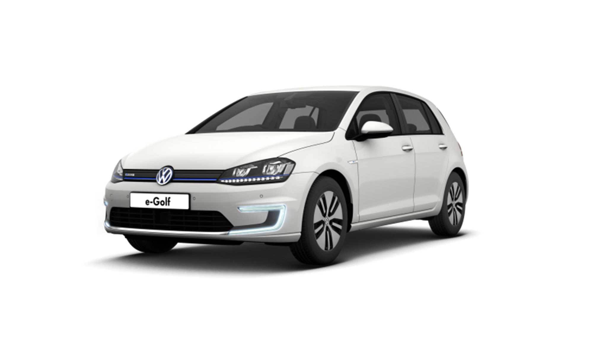 E Golf White Background 2