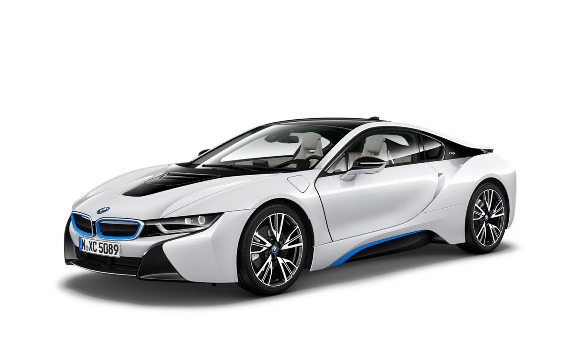 I8 Coupe White Background