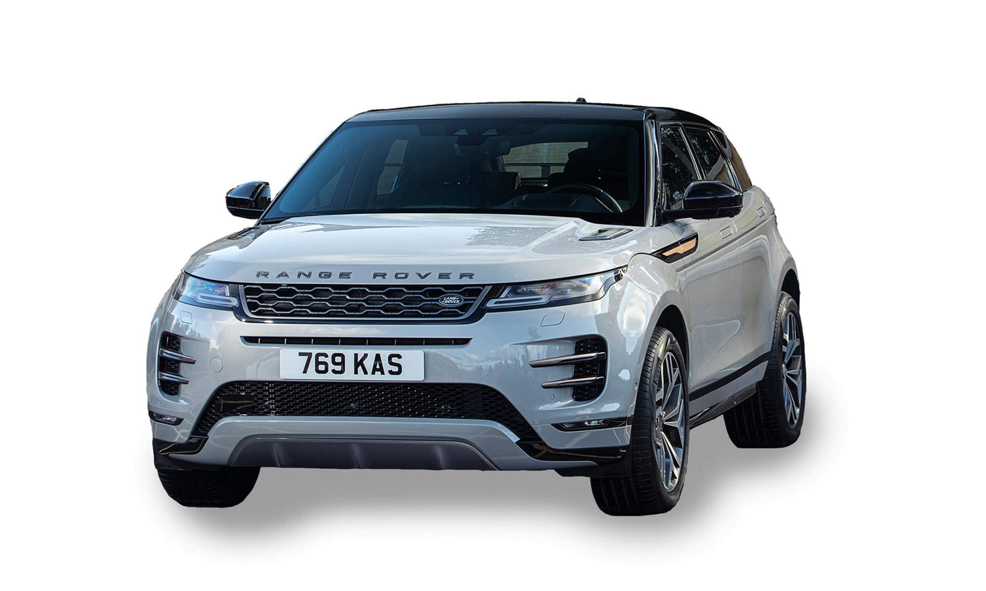 Jlr Range Rover Evoque White Background