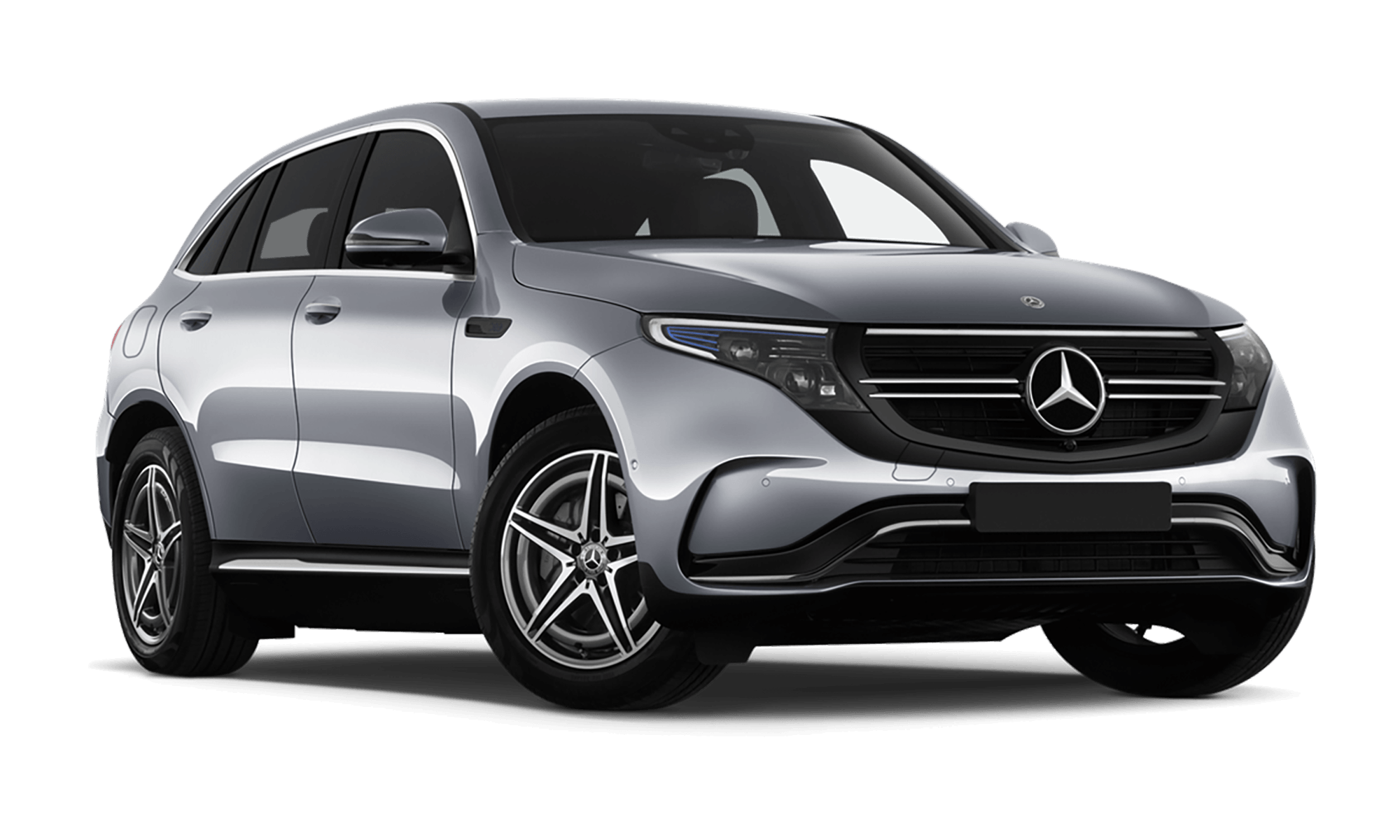 Mercedes Eqc White Background