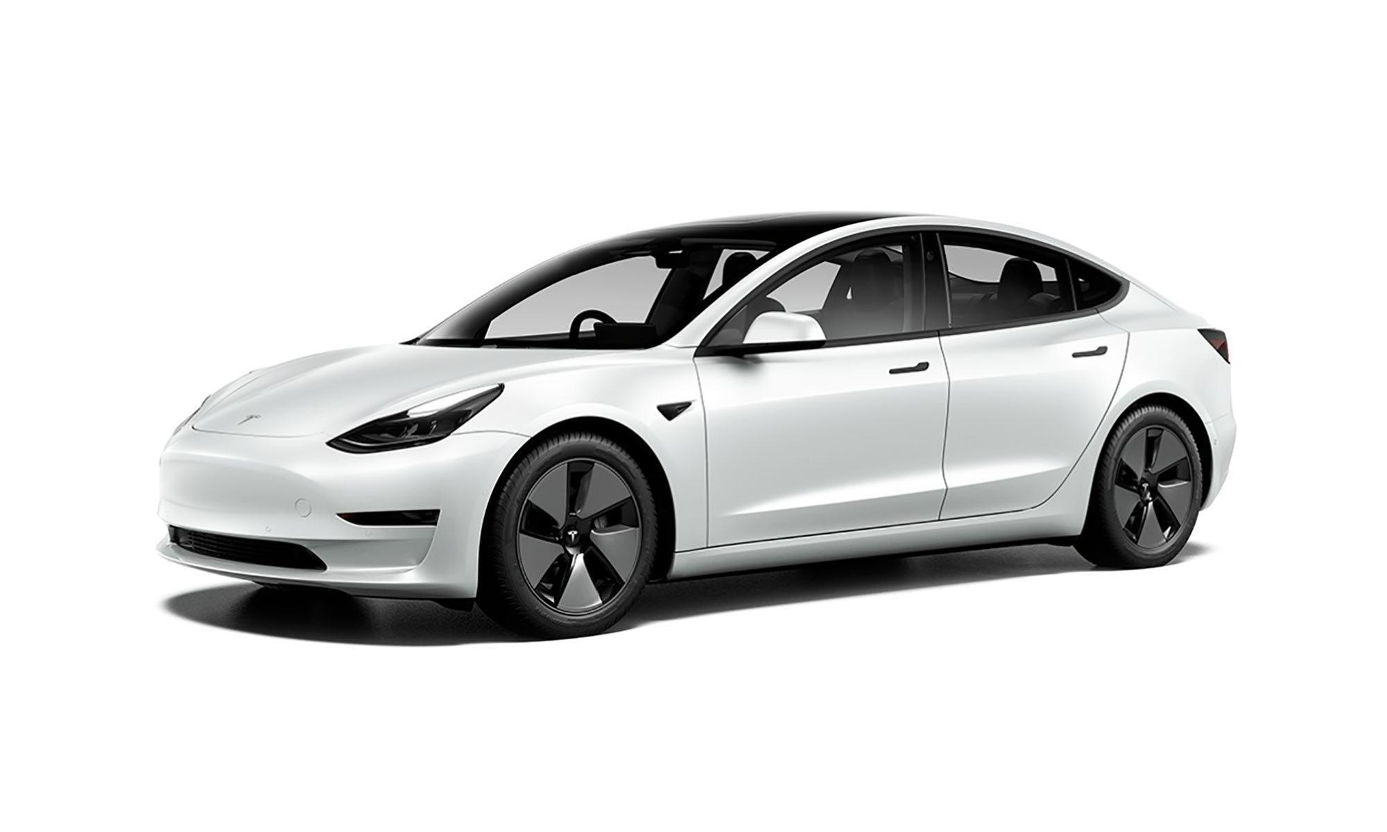 Model 3 21 White Background