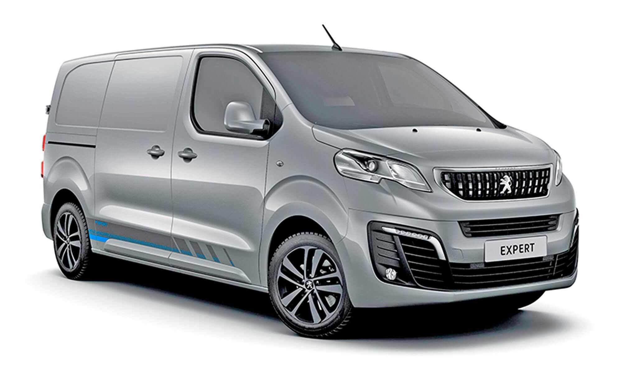 Peugeot Expert White Background