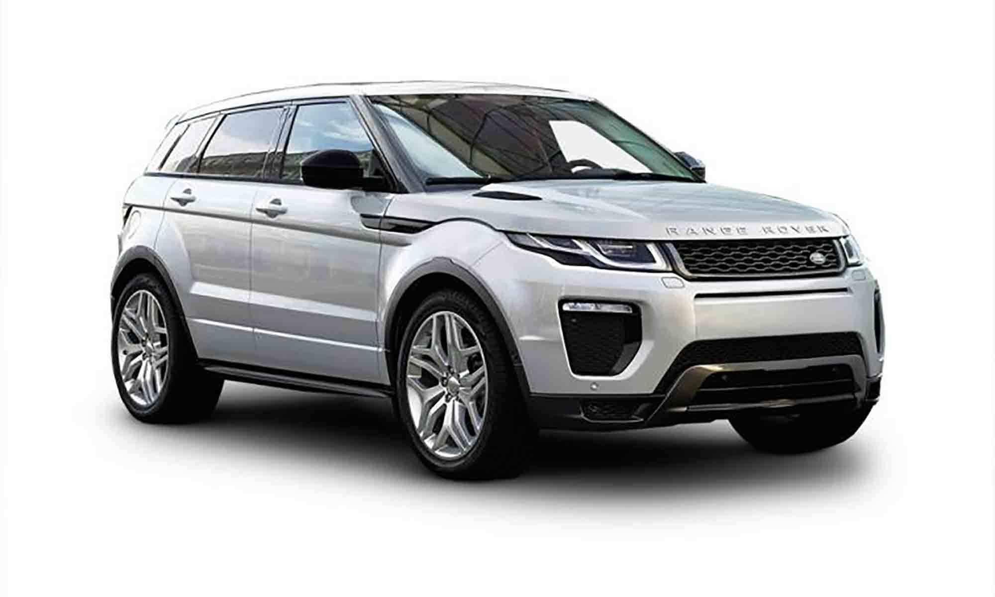 Range Rover Evoque White Background