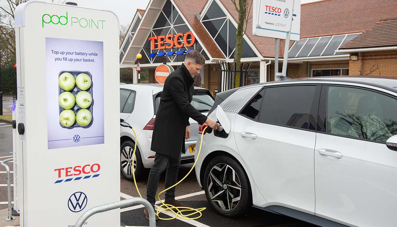tesco van charger cable